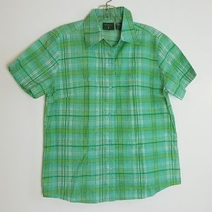 Mountain Lake Small short Sleeve Button Down